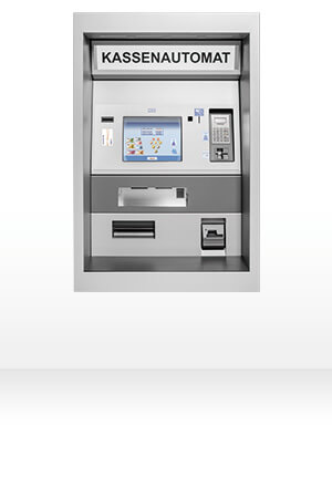 Kassenautomaten MP 800 von HESS Cash Systems
